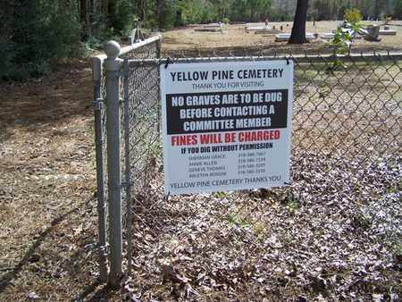 * CEMETERY SIGN,  - Sabine County, Louisiana    * CEMETERY SIGN - Louisiana Gravestone Photos