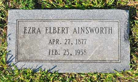 AINSWORTH, EZRA ELBERT - Sabine County, Louisiana | EZRA ELBERT AINSWORTH - Louisiana Gravestone Photos