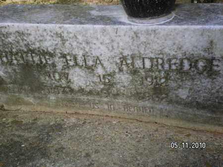 ALDREDGE, HATTIE ELLA - Sabine County, Louisiana   HATTIE ELLA ALDREDGE - Louisiana Gravestone Photos