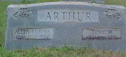 ARTHUR, EPSIE OLIVIA - Sabine County, Louisiana | EPSIE OLIVIA ARTHUR - Louisiana Gravestone Photos