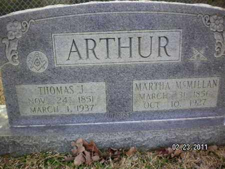 ARTHUR, THOMAS J - Sabine County, Louisiana | THOMAS J ARTHUR - Louisiana Gravestone Photos