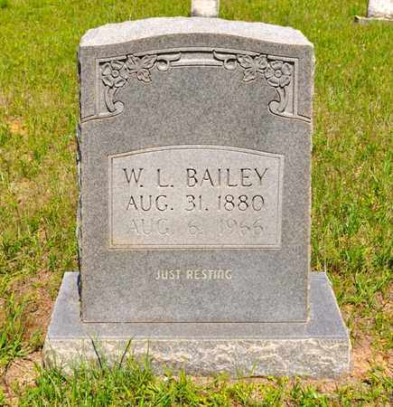 BAILEY, W L - Sabine County, Louisiana | W L BAILEY - Louisiana Gravestone Photos