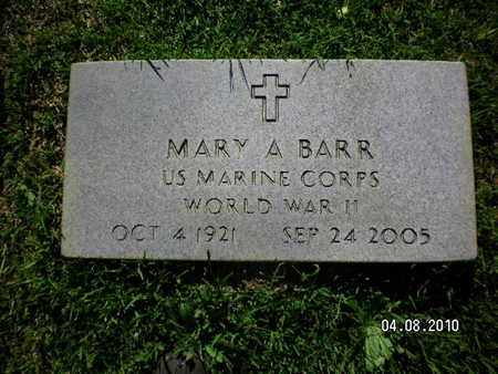 BARR, MARY A (VETERAN WWII) - Sabine County, Louisiana | MARY A (VETERAN WWII) BARR - Louisiana Gravestone Photos