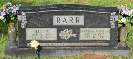 BARR, OLLIE W - Sabine County, Louisiana | OLLIE W BARR - Louisiana Gravestone Photos