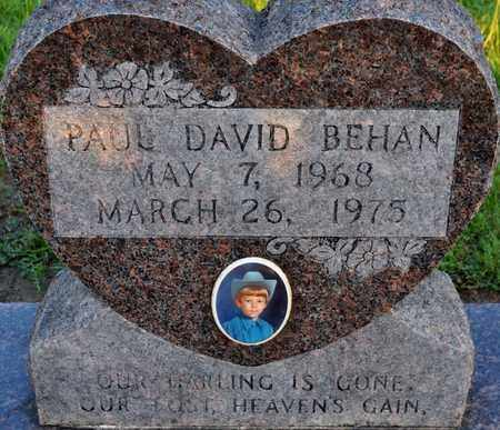 BEHAN, PAUL DAVID - Sabine County, Louisiana | PAUL DAVID BEHAN - Louisiana Gravestone Photos