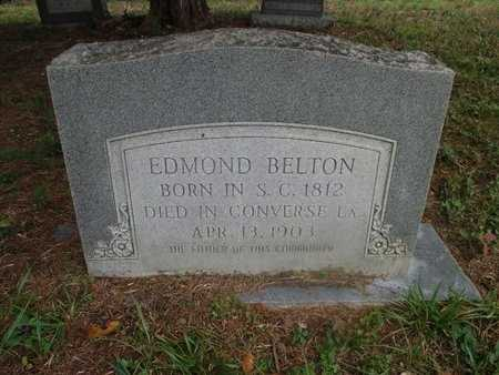 BELTON, EDMOND - Sabine County, Louisiana | EDMOND BELTON - Louisiana Gravestone Photos