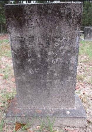 BELTON, G W - Sabine County, Louisiana | G W BELTON - Louisiana Gravestone Photos