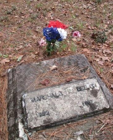 BELTON, MARSHALL N - Sabine County, Louisiana | MARSHALL N BELTON - Louisiana Gravestone Photos