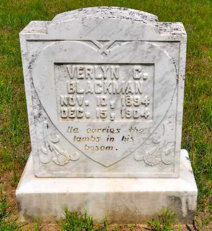 BLACKMAN, VERLYN C - Sabine County, Louisiana   VERLYN C BLACKMAN - Louisiana Gravestone Photos