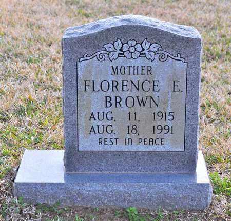 EMMONS BROWN, FLORENCE - Sabine County, Louisiana   FLORENCE EMMONS BROWN - Louisiana Gravestone Photos