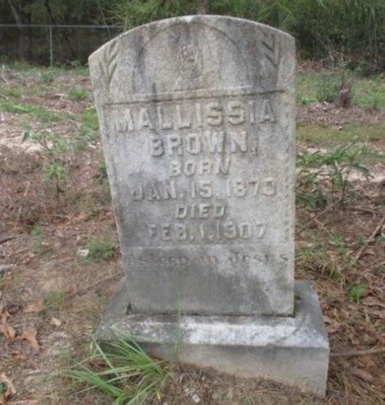 BROWN, MALLISSIA - Sabine County, Louisiana | MALLISSIA BROWN - Louisiana Gravestone Photos