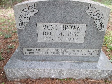 BROWN, MOSE - Sabine County, Louisiana | MOSE BROWN - Louisiana Gravestone Photos