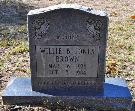 JONES BROWN, WILLIE B - Sabine County, Louisiana | WILLIE B JONES BROWN - Louisiana Gravestone Photos