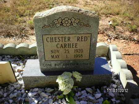 CARHEE, CHESTER RED - Sabine County, Louisiana | CHESTER RED CARHEE - Louisiana Gravestone Photos