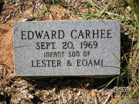 CARHEE, EDWARD - Sabine County, Louisiana   EDWARD CARHEE - Louisiana Gravestone Photos