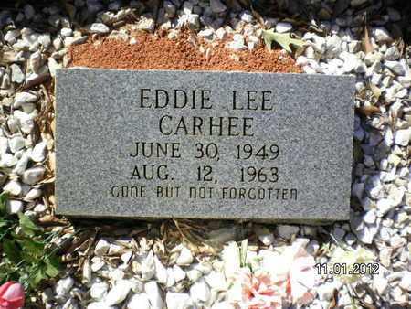 CARHEE, EDDIE LEE - Sabine County, Louisiana   EDDIE LEE CARHEE - Louisiana Gravestone Photos