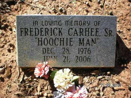 CARHEE, FREDERICK, SR - Sabine County, Louisiana   FREDERICK, SR CARHEE - Louisiana Gravestone Photos