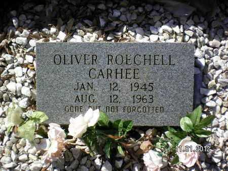 CARHEE, OLIVER ROECHELL - Sabine County, Louisiana   OLIVER ROECHELL CARHEE - Louisiana Gravestone Photos