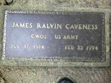 CAVENESS, JAMES RALVIN (VETERAN) - Sabine County, Louisiana | JAMES RALVIN (VETERAN) CAVENESS - Louisiana Gravestone Photos