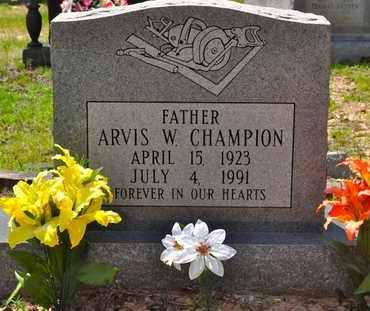 CHAMPION, ARVIS W - Sabine County, Louisiana | ARVIS W CHAMPION - Louisiana Gravestone Photos