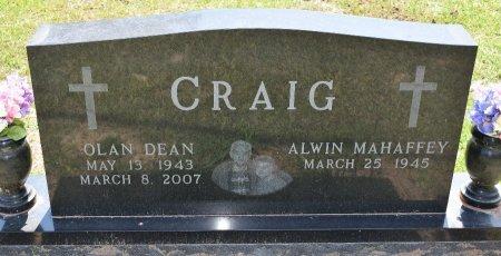 CRAIG, OLAN DEAN - Sabine County, Louisiana   OLAN DEAN CRAIG - Louisiana Gravestone Photos