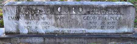 CURD, GEORGE EUNICE - Sabine County, Louisiana | GEORGE EUNICE CURD - Louisiana Gravestone Photos