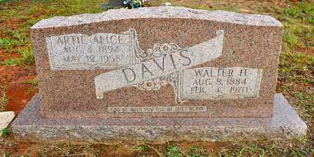 DAVIS, ARTIE ALICE - Sabine County, Louisiana | ARTIE ALICE DAVIS - Louisiana Gravestone Photos
