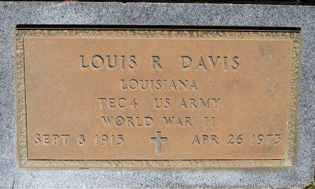 DAVIS, LOUIS R (VETERAN WWII) - Sabine County, Louisiana | LOUIS R (VETERAN WWII) DAVIS - Louisiana Gravestone Photos