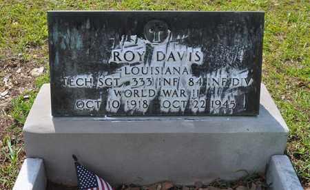 DAVIS, ROY (VETERAN WWII, DNB) - Sabine County, Louisiana   ROY (VETERAN WWII, DNB) DAVIS - Louisiana Gravestone Photos