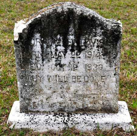 DAVIS, ORA - Sabine County, Louisiana | ORA DAVIS - Louisiana Gravestone Photos