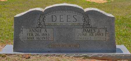 DEES, JAMES J - Sabine County, Louisiana | JAMES J DEES - Louisiana Gravestone Photos