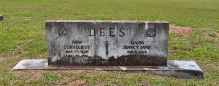 DEES, NANCY JANE - Sabine County, Louisiana | NANCY JANE DEES - Louisiana Gravestone Photos