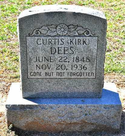 DEES, CURTIS KIRK - Sabine County, Louisiana | CURTIS KIRK DEES - Louisiana Gravestone Photos