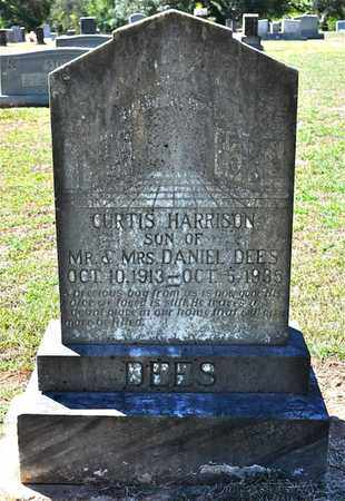 DEES, CURTIS HARRISON - Sabine County, Louisiana | CURTIS HARRISON DEES - Louisiana Gravestone Photos