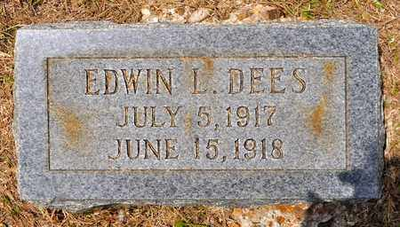 DEES, EDWIN L - Sabine County, Louisiana | EDWIN L DEES - Louisiana Gravestone Photos