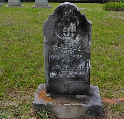 DEES, HARDY BRYANT - Sabine County, Louisiana | HARDY BRYANT DEES - Louisiana Gravestone Photos