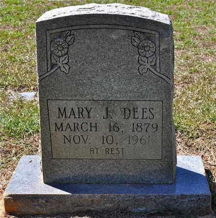 DEES, MARY J - Sabine County, Louisiana | MARY J DEES - Louisiana Gravestone Photos