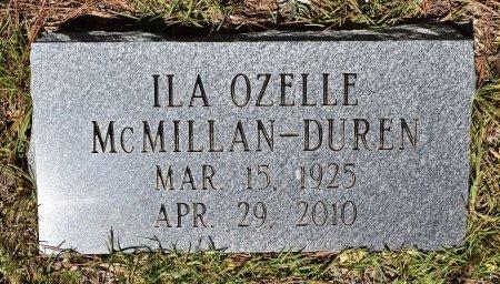 DUREN, ILA OZELLE - Sabine County, Louisiana | ILA OZELLE DUREN - Louisiana Gravestone Photos