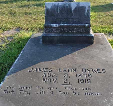 DYKES, JAMES LEON - Sabine County, Louisiana | JAMES LEON DYKES - Louisiana Gravestone Photos