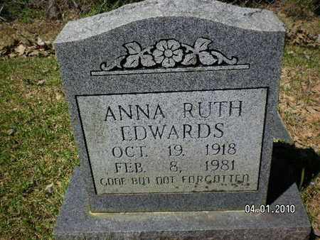 EDWARDS, ANNA RUTH - Sabine County, Louisiana | ANNA RUTH EDWARDS - Louisiana Gravestone Photos