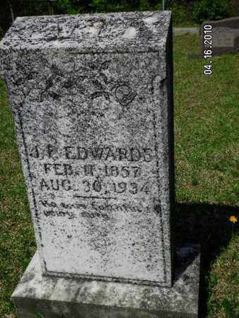 EDWARDS, JAMES FRANKLIN - Sabine County, Louisiana | JAMES FRANKLIN EDWARDS - Louisiana Gravestone Photos