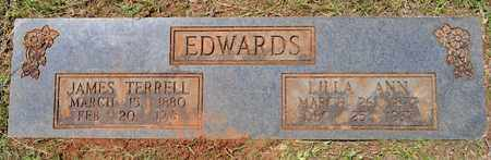 EDWARDS, JAMES TERRELL - Sabine County, Louisiana | JAMES TERRELL EDWARDS - Louisiana Gravestone Photos