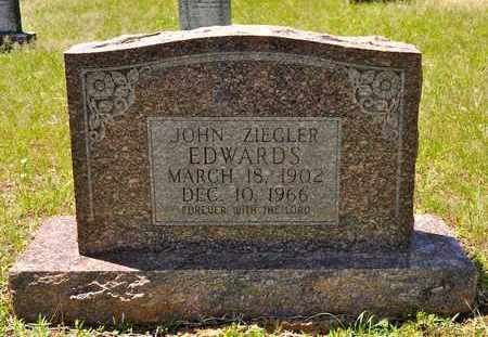 EDWARDS, JOHN ZIEGLER - Sabine County, Louisiana | JOHN ZIEGLER EDWARDS - Louisiana Gravestone Photos