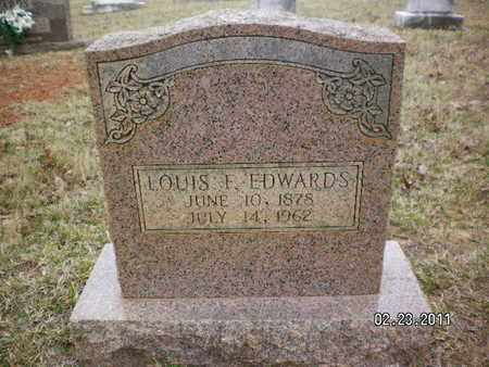 EDWARDS, LOUIS F - Sabine County, Louisiana | LOUIS F EDWARDS - Louisiana Gravestone Photos