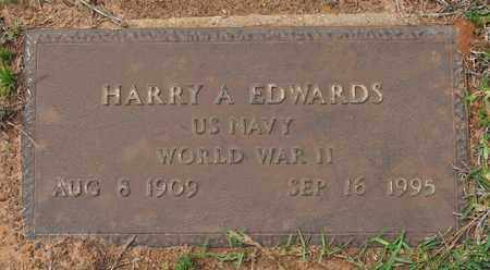 EDWARDS, HARRY A (VETERAN WWII) - Sabine County, Louisiana | HARRY A (VETERAN WWII) EDWARDS - Louisiana Gravestone Photos