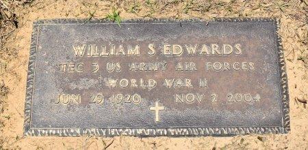 EDWARDS, WILLIAM S (VETERAN WWII) - Sabine County, Louisiana | WILLIAM S (VETERAN WWII) EDWARDS - Louisiana Gravestone Photos