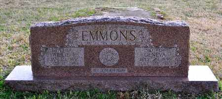 EMMONS, WILLIE E - Sabine County, Louisiana | WILLIE E EMMONS - Louisiana Gravestone Photos
