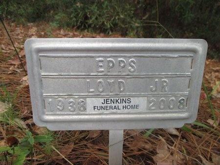EPPS, LOYD, JR - Sabine County, Louisiana | LOYD, JR EPPS - Louisiana Gravestone Photos