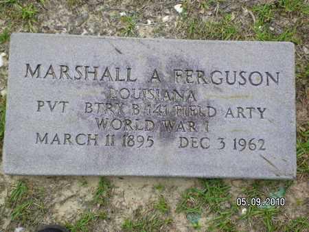 FERGUSON, MARSHALL A (VETERAN WWI) - Sabine County, Louisiana | MARSHALL A (VETERAN WWI) FERGUSON - Louisiana Gravestone Photos