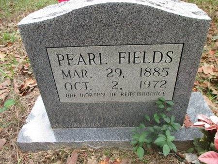 FIELDS, PEARL - Sabine County, Louisiana | PEARL FIELDS - Louisiana Gravestone Photos